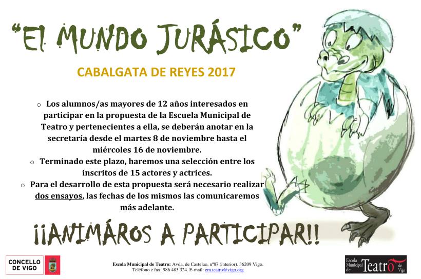 Cartel cabalgata 2017 castellano