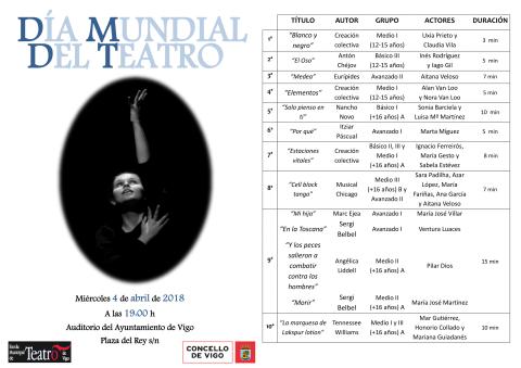 Programación Día Mundial del Teatro (versión web castellano)